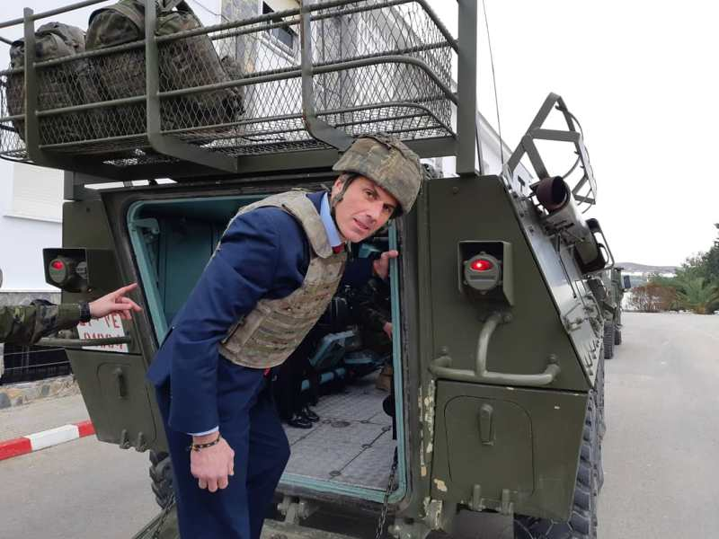 Ortega Smith y el ejército