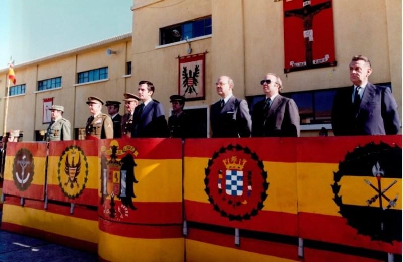 Adolfo Suárez inicia una visita oficial a Ceuta  Ceuta, viernes 5 de diciembre de 1980