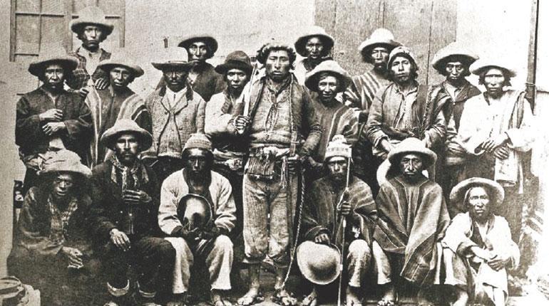 Campesinos en la Guerra Civil de Bolivia