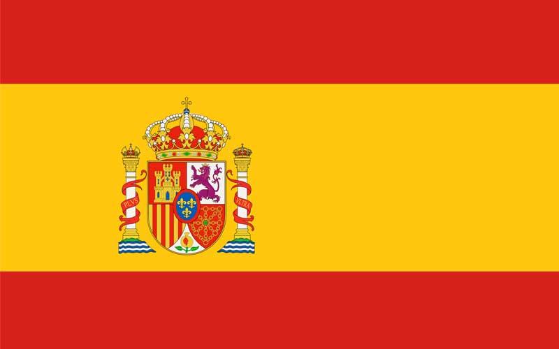 Bandera oficial del Reino de España