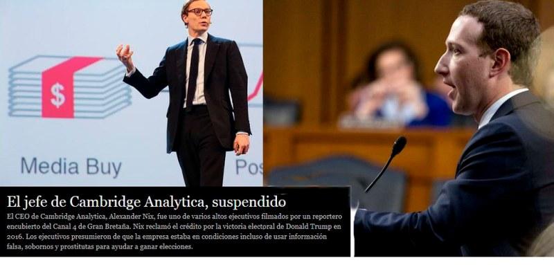 """El jefe de Cambridge Analytica suspendido"""". Autor: Ruperto Miller. Fecha: 11 de Abril de 2018. Fuente: flickr, dominio público."""