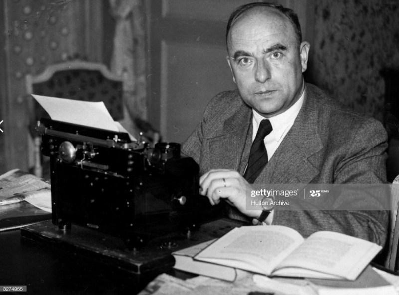 Otto Strasser, hermano de Gregor Strasser. Autor: Desconocido, 26/11/1939. Fuente: Hulton Archive/Getty Images , bajo licencia Con derechos gestionados