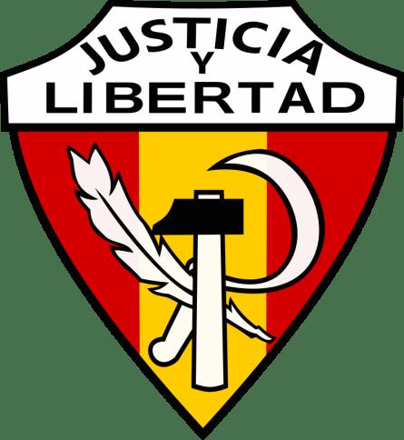 """Emblema de los Carlistas """"Sindicatos Libres"""". Autor: Dahn, 21/03/2019. Fuente: Wikimedia, licencia CC BY-SA 4.0"""