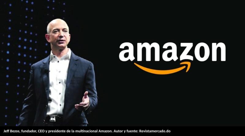Jeff Bezos, fundador, CEO y presidente de la multinacional Amazon. Autor y fuente: Revistamercado.do