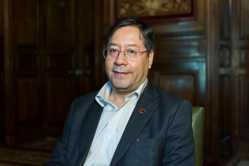 Luis Arce Catacora, Ministro de Economía y Finanzas Públicas de Bolivia. Autor: Casa de América, 26/04/2019. Fuente: Flickr. (CC BY-NC-ND 2.0)