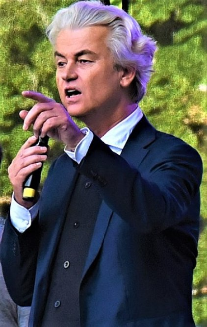 Geert Wilders, político holandés. Autor: David Sedlecký, 25/04/2019 Fuente: trabajo propio de Wikimedia(CC BY-SA 4.0).