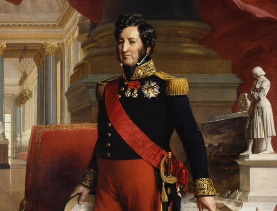 Luis Felipe I de Orleans, último rey de Francia de la Casa de Borbón. Autor: Franz Xaver Winterhalter, 1841. Fuente: Desconocida.