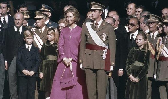 La proclamación y juramento del Príncipe Juan Carlos como Rey de España. Autor: Desconocido, 22/11/1975. Fuente: Nationaal Archief (Holanda). (CC0 1.0).