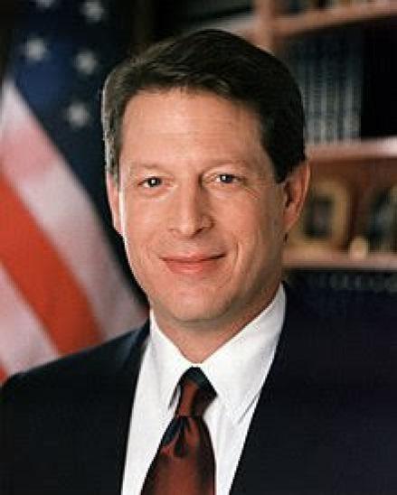 Al Gore, Vicepresidente de los Estados Unidos. Autor: desconocido. Fuente: Wikimedia