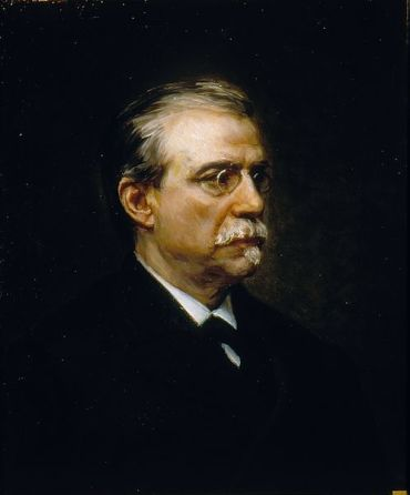 Retrato del político Antonio Cánovas del Castillo. Autor: Ricardo de Madrazo, 1896.Fuente: Wikimedia Commons.