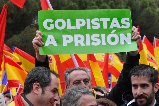 Concentración en Plaza de Colón en Madrid. Autor: Vox España, 10/02/2019. Fuente: Flickr. (CC0).