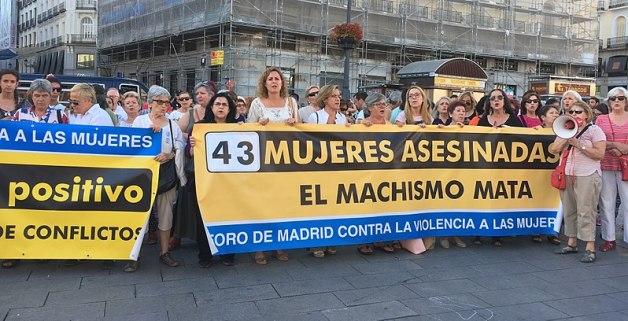 Manifestación del Foro de Madrid contra la Violencia a las Mujeres. Autora: Montserrat Boix, 25/07/2017. Fuente: Wikimedia Commons (CC BY-SA 4.0.)