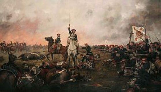 """Cuadro """"Calderote"""" (Primera Guerra Carlista). Auotr: Augusto Ferrer-Dalmau, 5/02/2010. Fuente: Wikimedia Commons ( CC BY-SA 3.0)"""