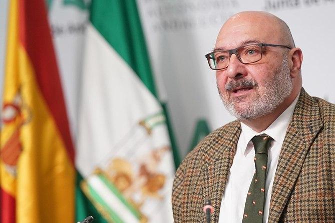 Alejandro Hernández, portavoz de Vox, que exige el 'pin parental'. Autor: Junta de Andalucía, 20/03/2020. Fuente: Flickr (CC BY-SA 2.0.)