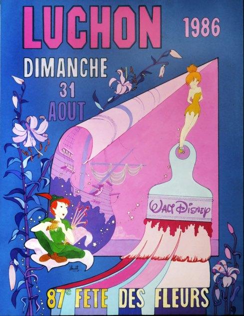 Victimización.. Cartel de la película de Disney Peter Pan. Autor: Jacques Cuarto (3 de septiembre de 1986). Fuente: http://www.j-sourth.com/index.php/galerie. Licencia: CC-BY-SA-4.0