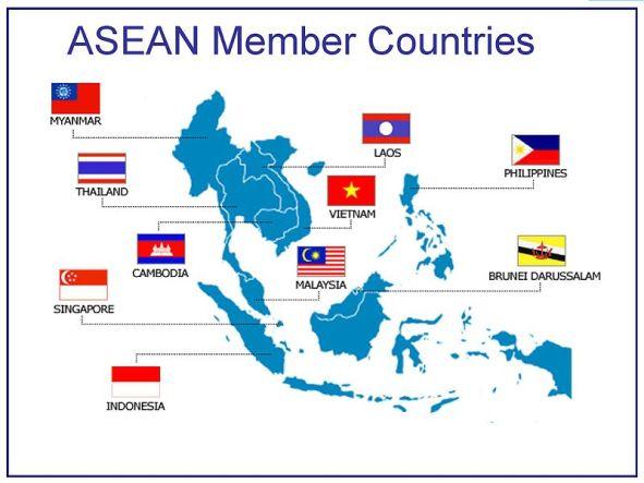 Países miembros de la ASEAN. Autor: Astore international, 14/04/2014. Fuente: Wikimedia Commons. (CC BY-SA 3.0). Myanmar