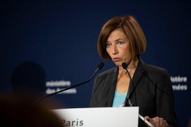 La ministra francesa de las Fuerzas Armadas, Florence Parly, habla en una rueda de prensa. Autor: Lisa Ferdinando - U.S. Secretary of Defense, 07/09/2019. Fuente: Flickr. (CC BY 2.0).
