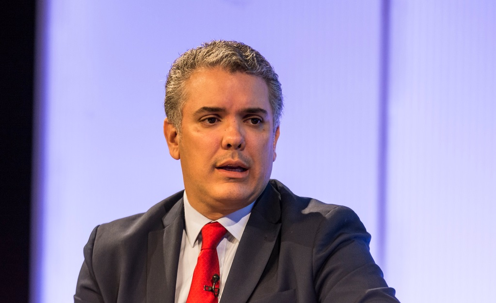 Iván Duque, presidente de Colombia. Autor: Casa de América, 18/01/2018. Fuente: Flickr (CC BY-NC-ND 3.0)