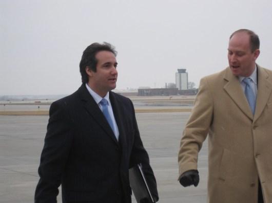 Michael Cohen, abogado y ejecutivo de Donald Trump. Autor: IowaPolitics.com, 06/03/2011. Fuente: Flickr (CC BY-SA 2.0).