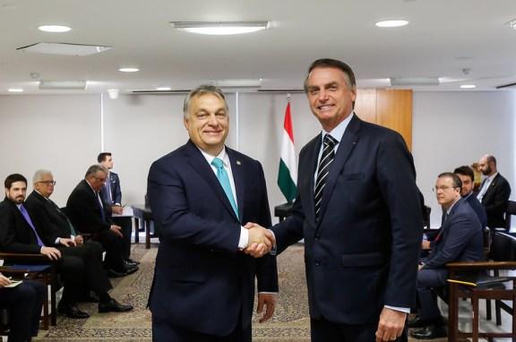 Audiencia de Viktor Orbán con Jair Bolsonaro. Autor: Marcos Correa/PR, 02/01/2019.  Fuente: Flickr (CC BY-NC-SA 2.0).