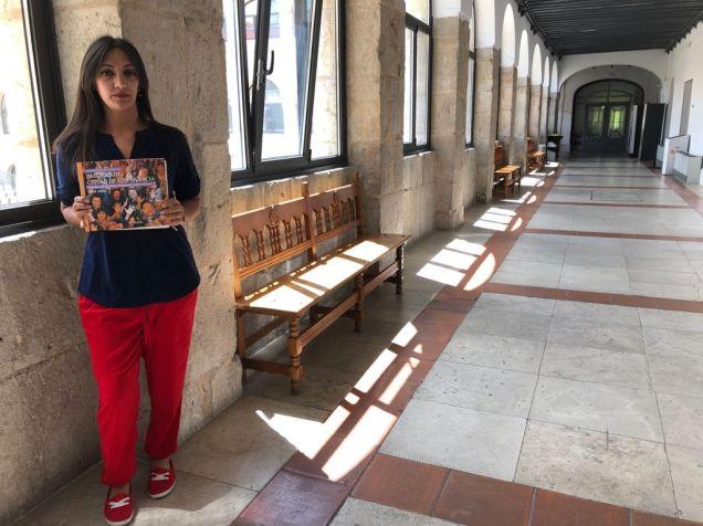 Carmen Jiménez Borja, concejala perteneciente a la comunidad gitana, en el Ayuntamiento de Valladolid. Autor: Ayuntamiento de Valladolid, 39/06/2021. Fuente: Propia