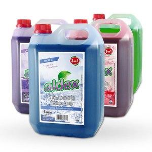 limpiador desodorante y desinfectante integral Aldex x 5L.