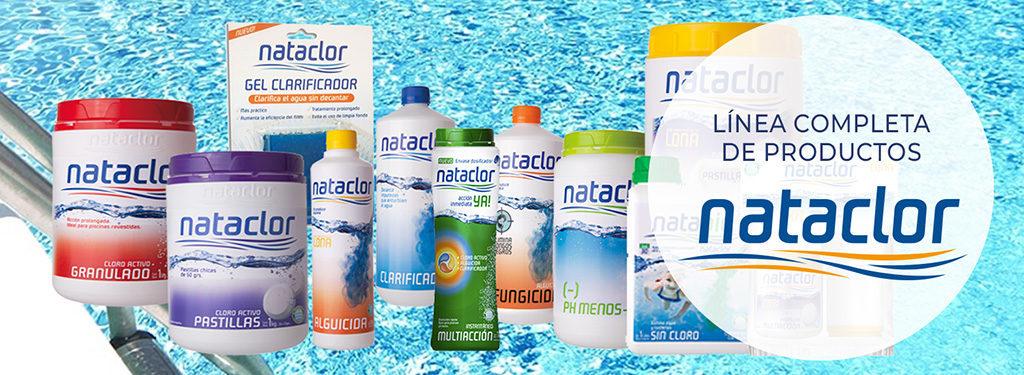 Productos para piscinas Nataclor