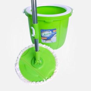 Set de balde y mopa Spin Mop - GLOW.