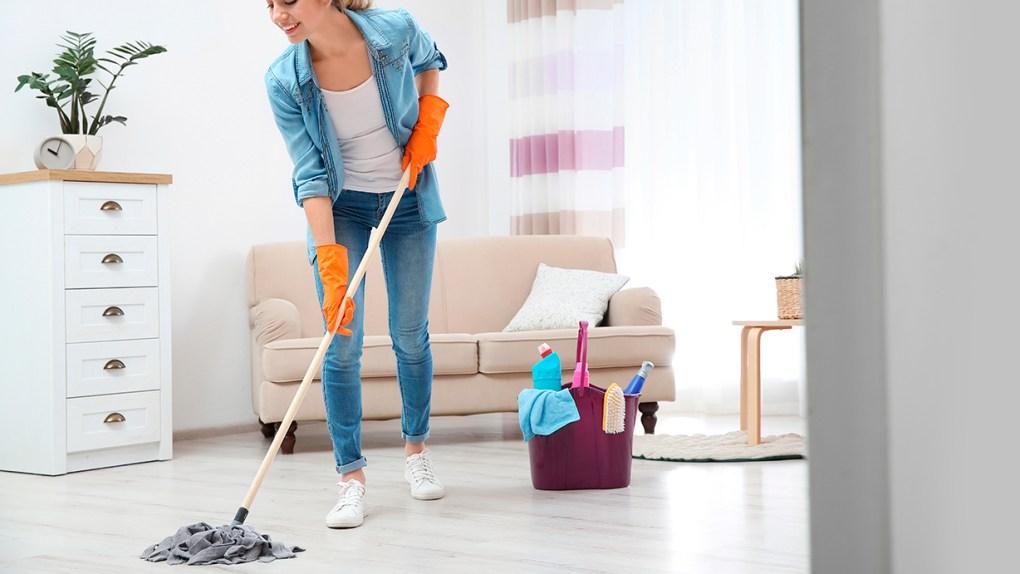 Limpieza y desinfección del hogar.