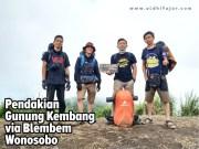 Pendakian Gunung Kembang via Blembem