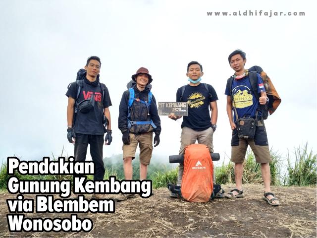 Pendakian Gunung Kembang via Wonosobo