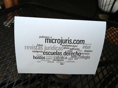 Arte de Microjuris y las revistas jurídicas