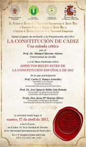 La Constitución de Cadiz: Una Mirada Crítica