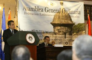 Hernéndez Denton exige respeto a la independencia judicial durante apertura de la asamblea general de la FLAM