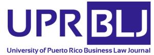 Disponible nueva edición del University of Puerto Rico Business Law Journal