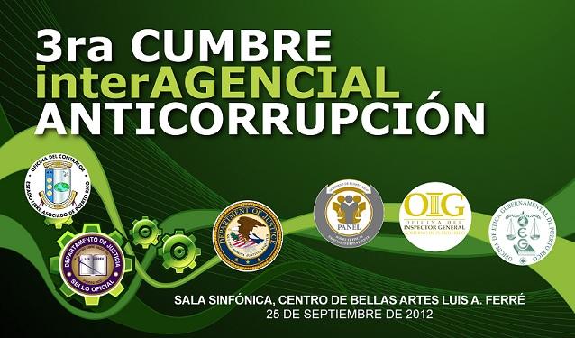 Tercera Cumbre Interagencial Anticorrupción de Puerto Rico