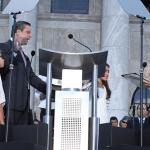 Juez Presidente toma juramento al Gobernador Alejandro Garcia Padilla.