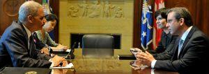 Gobernador se reúne con Secretario de Justicia Eric Holder