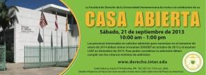 CASA ABIERTA FACULTAD DE DERECHO DE LA UNIVERSIDAD INTERAMERICANA DE PUERTO RICO