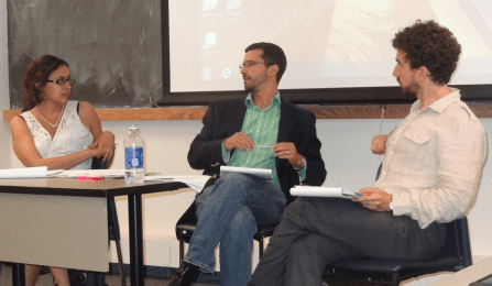 Foto: law.buffalo.edu - Associate Professor Anjana Malhotra, Professor Luis Chiesa, and Associate Professor Anthony O'Rourke