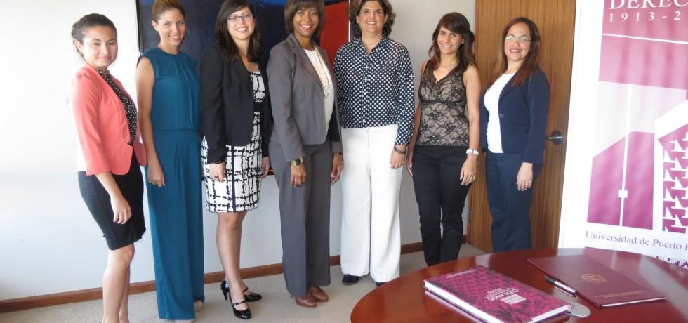 ESTUDIANTES DE ESCUELA DE DERECHO DE LA UPR CONTARÁN CON PRÁCTICA LEGAL EN DRNA