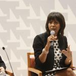 La licenciada Vivian I. Neptune Rivera, Decana de la Escuela de Derecho de la UPR, discutió las aportaciones de Hernández Denton en los casos sobre discrimen por género.