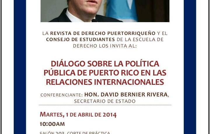 Política pública de Puerto Rico en las relaciones internacionales
