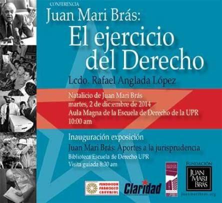 Juan Mari Bras: El ejercicio del Derecho