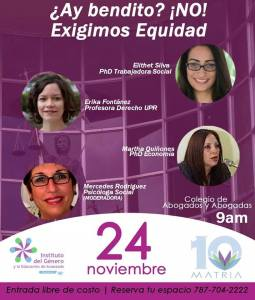 ¿Cómo terminar con la violencia de género en Puerto Rico?