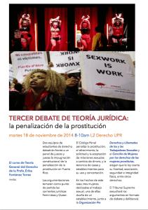 La penalización de la prostitución