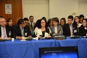 Audiencia de Puerto Rico ante la Comisión Interamericana de Derechos Humanos en Washington D.C.