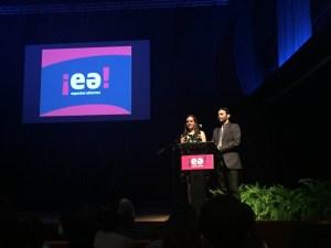 Nuria Ortiz Vargas, directora ejecutiva de EA y Oscar Serrano, co fundador del CPI