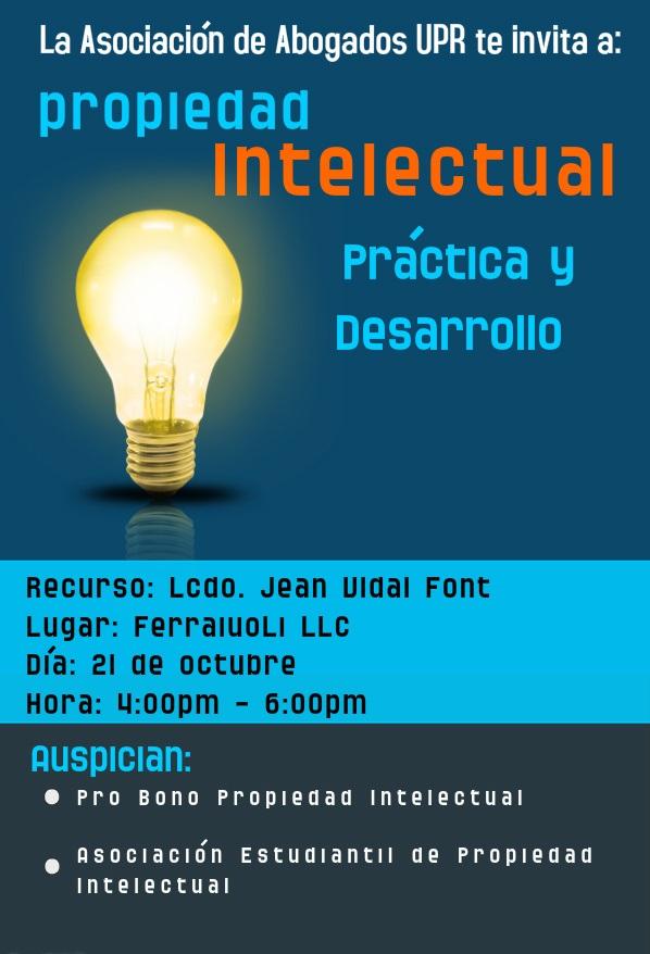 Propiedad intelectual: práctica y desarrollo