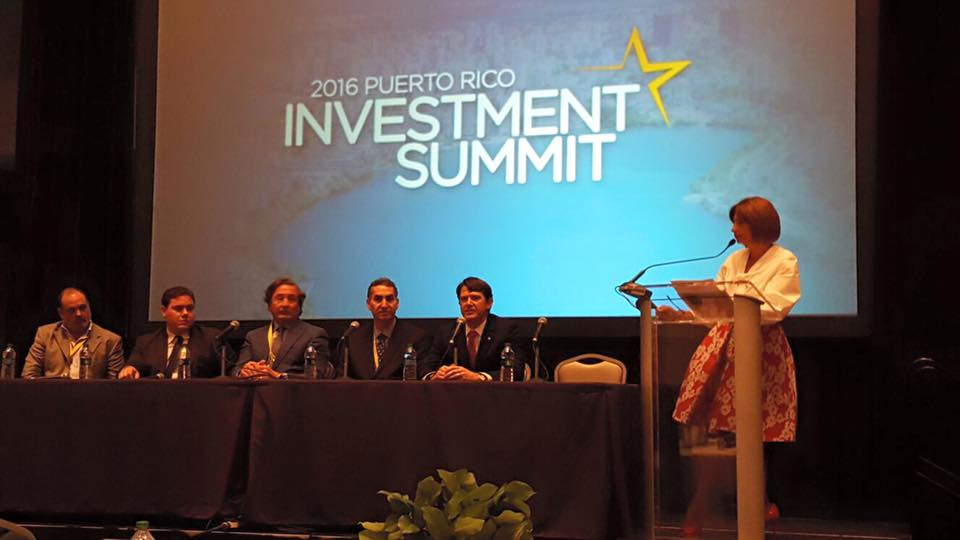 Reseña del Puerto Rico Investment Summit 2016